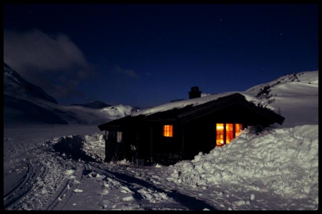 hytte_natt