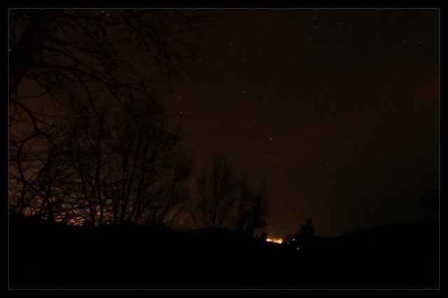 lys fra byen