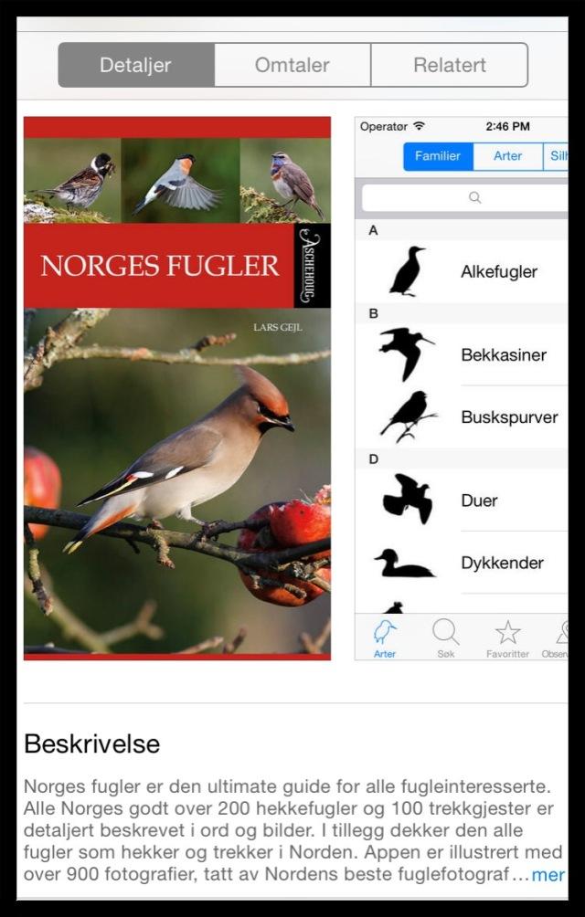 norges fugler