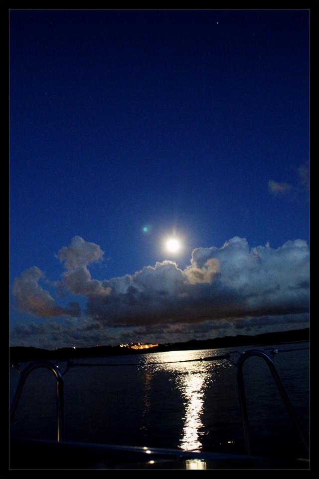 utsikt kveld