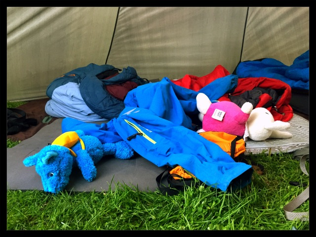 kaos i teltet