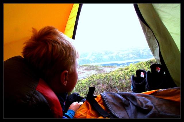 telttur utsikt
