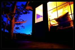 tretopphytte natt 4